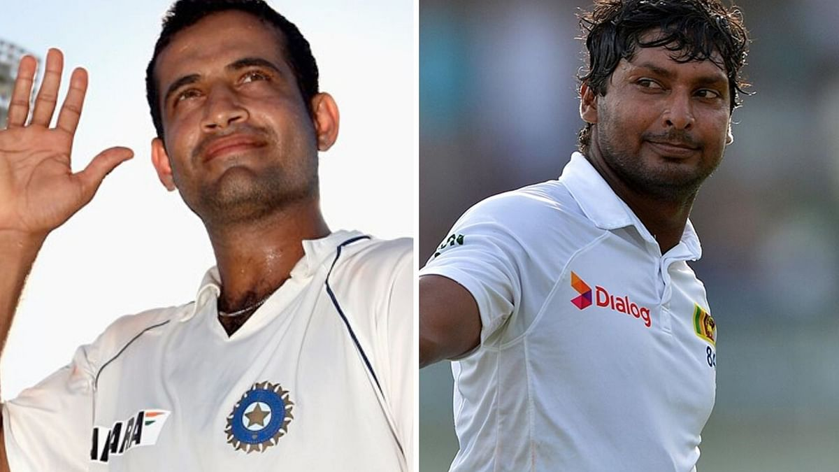 Irfan Pathan, who announced retirement from all forms of cricket on Saturday, 4 January revealed a 'nasty' exchange he had with the former Sri Lankan cricketer Kumar Sangakkara.