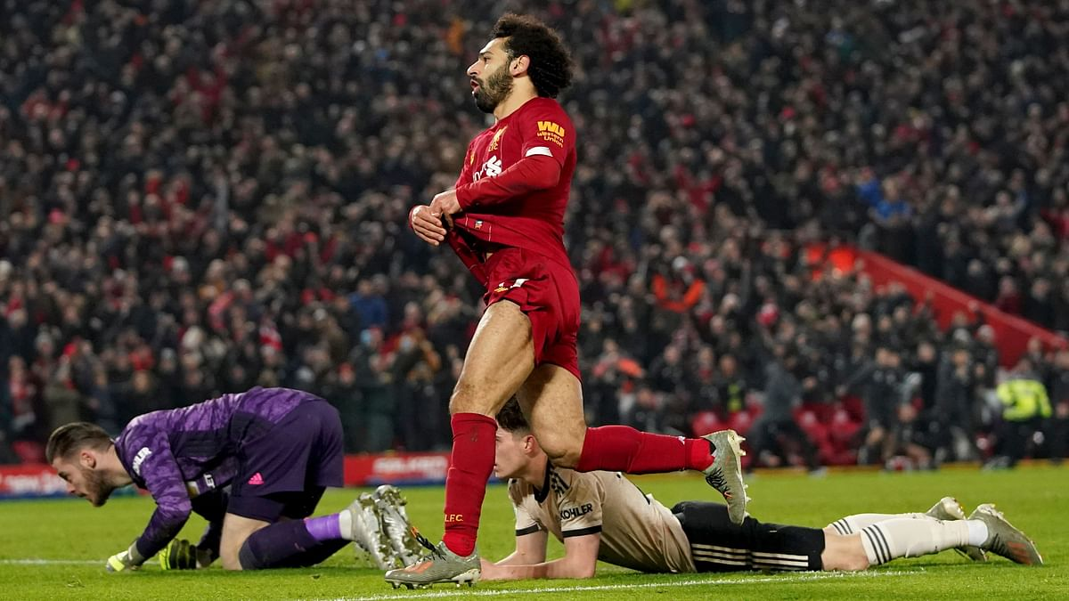 Liverpool beat Manchester United 2-0.