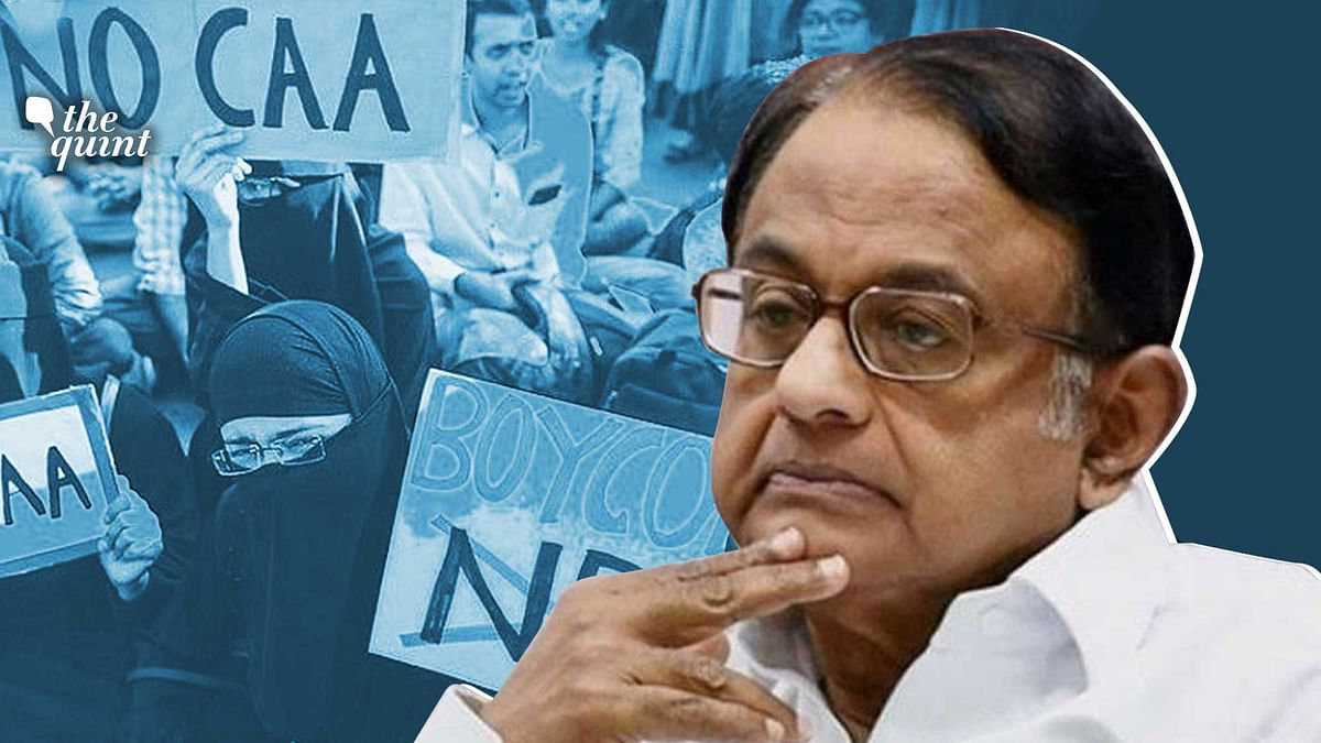 'Govt Changed Gears, Now Talking of NPR, Not NRC': Chidambaram