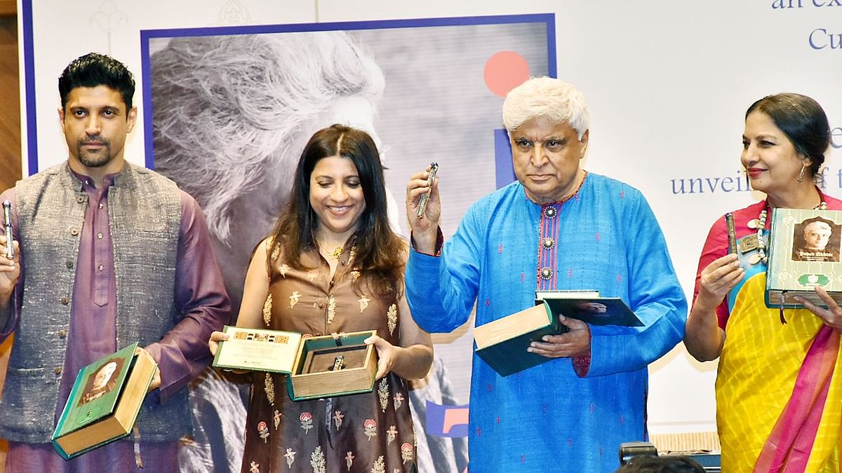 Ahead of Javed Akhtar's 75th B'Day, Family Plans Grand Exhibition