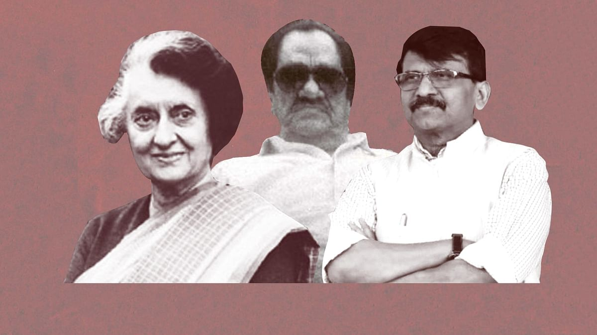 Sanjay Raut has claimed, in an interview, that Indira Gandhi used to meet underworld don Karim Lala in the 1960s.