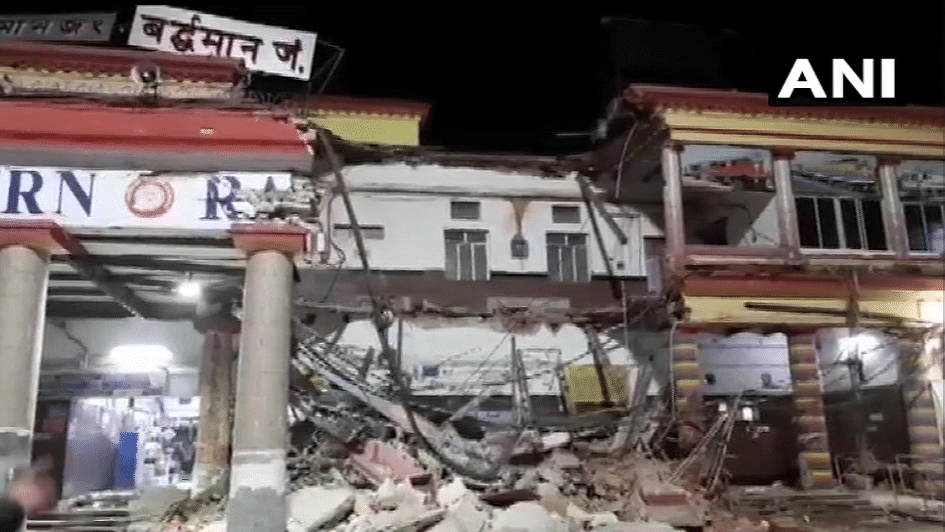 One Killed in Barddhaman Railway Station Collapse in West Bengal