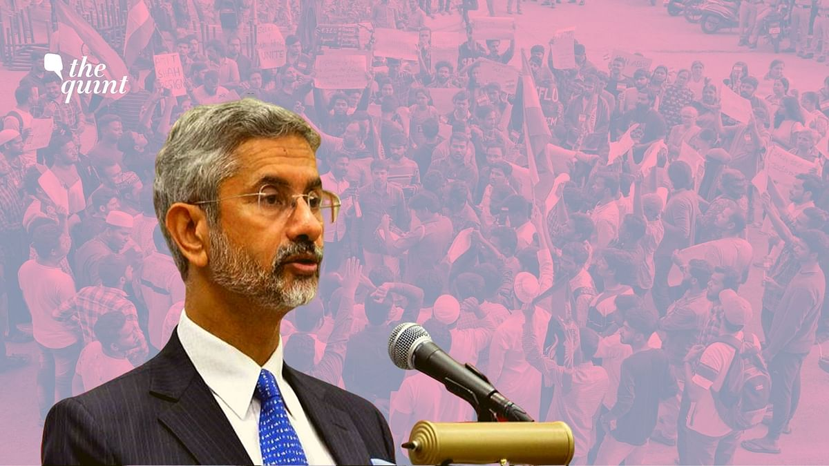Jaishankar, an alumnus of JNU, made the comments at a book launch in Delhi.