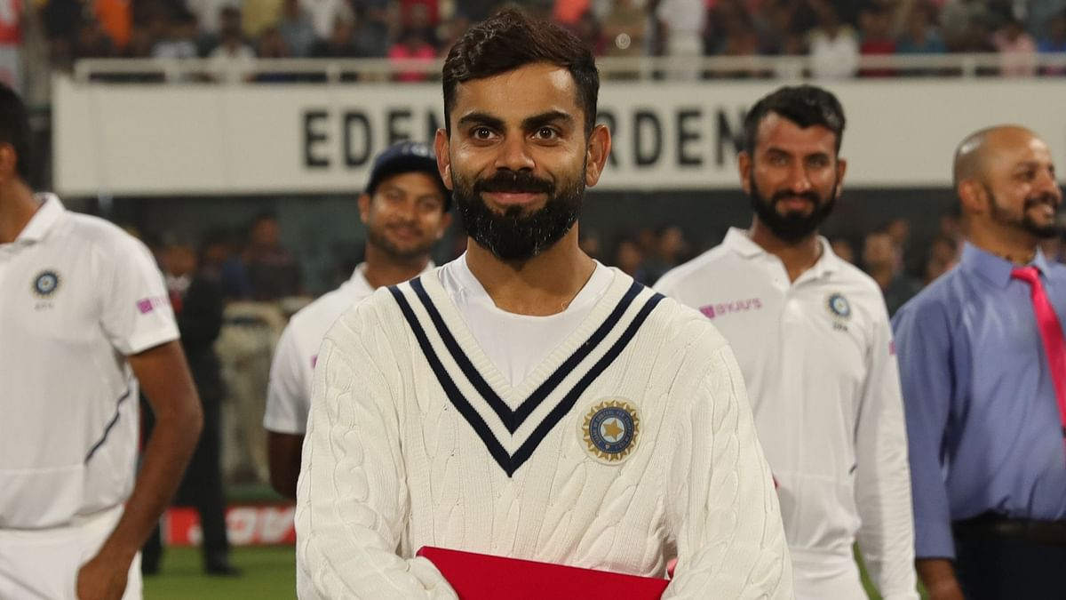 Virat Kohli has said he's very much opposed to the idea of playing four-day Tests.