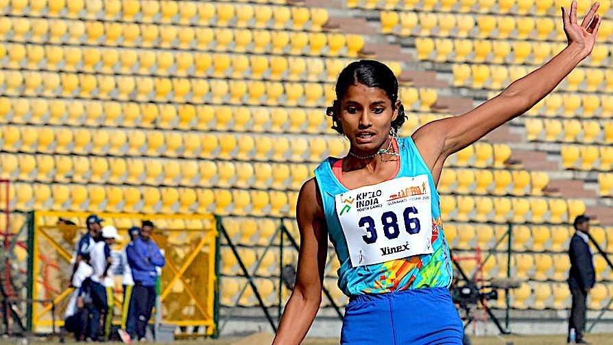 It was a typically busy but fulfilling day for Kerala's Ancy Sojan, at the Khelo India Youth Games on Sunday, 12 January morning.