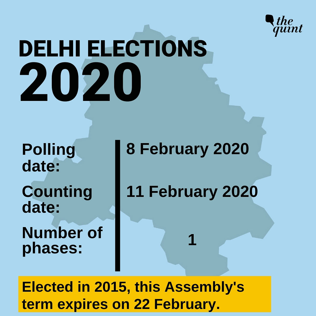 Delhi Elections on 8 Feb in Single Phase, Vote Counting on 11 Feb