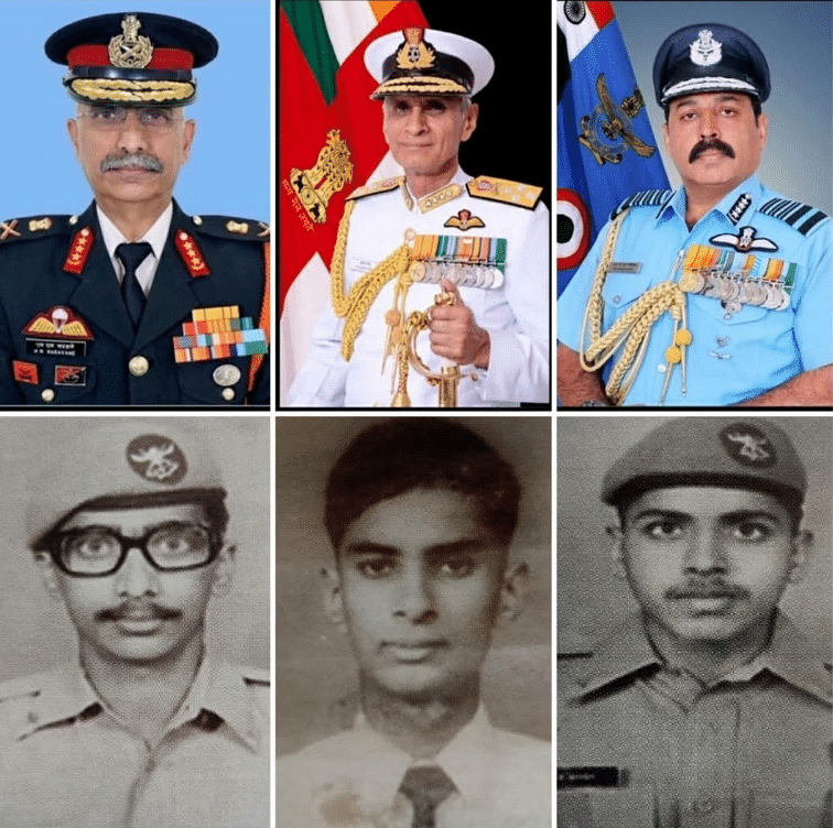 Not Just NDA Mates, The Three Service Chiefs Also Have an IAF Link