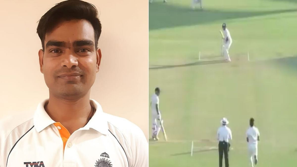 Madhya Pradesh fast bowler Ravi Yadav on Monday, 27 January became the first bowler in first-class cricket history to claim a hat-trick in the first over of his debut gam