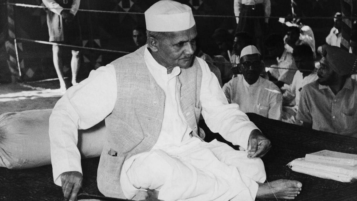 File image of Lal Bahadur Shastri.