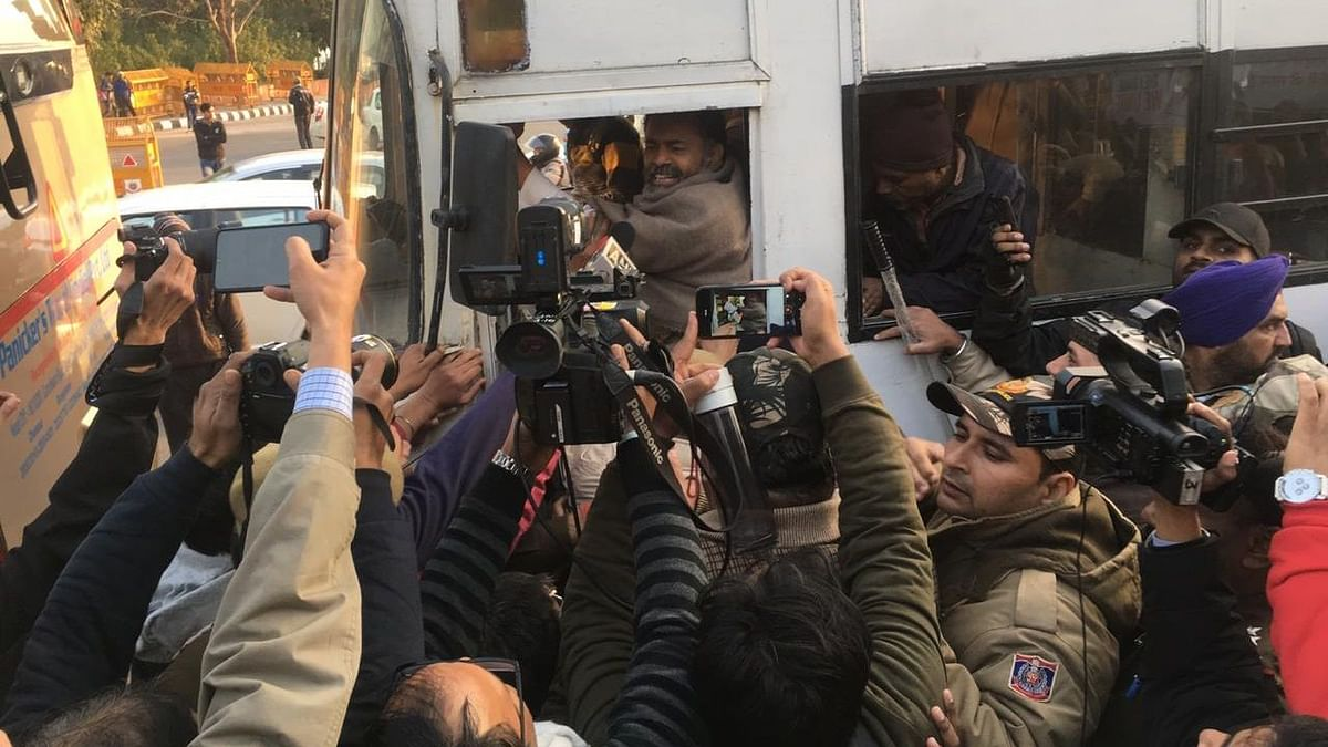 CAA Row: Yogendra Yadav, Prashant Bhushan Detained at Delhi Gate