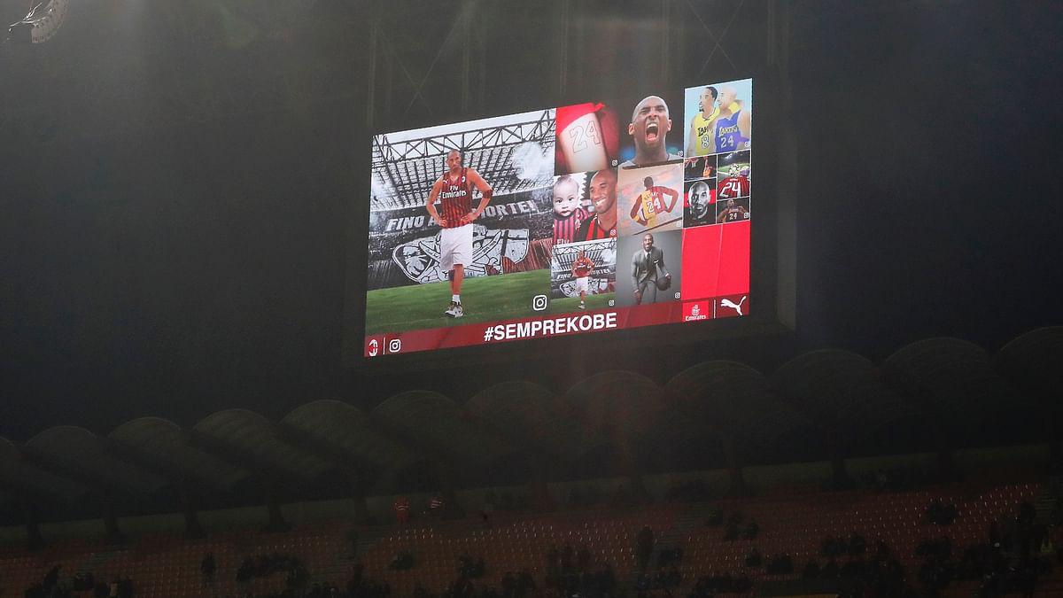 Watch: AC Milan Pays Tribute to Kobe Bryant at San Siro Match