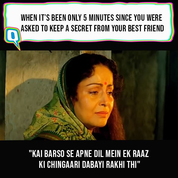 We Turned These 'Karan Arjun' Dialogues Into Relatable AF Memes