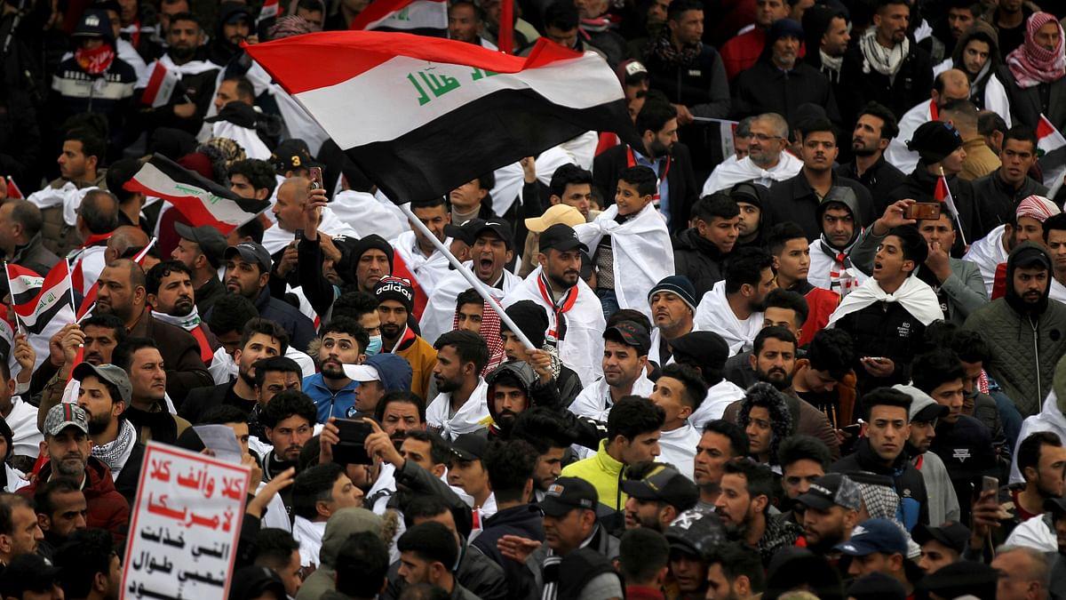 Three Rockets Hit US Embassy in Protest-Hit Iraq Capital
