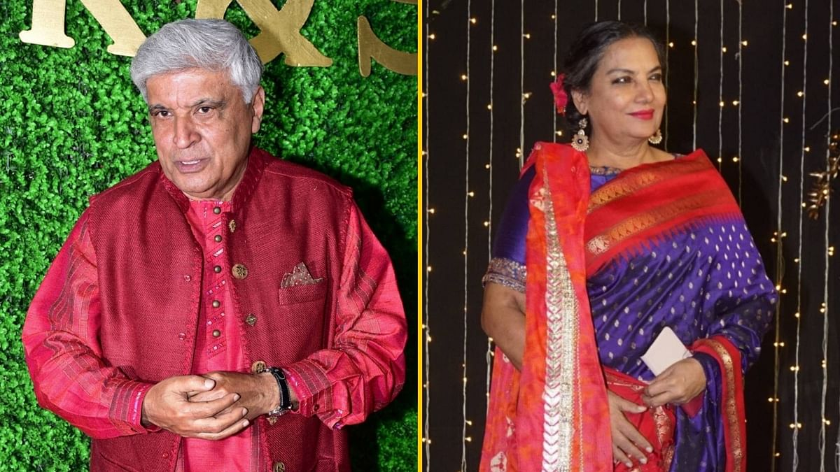 Javed Akhtar and Shabana Azmi.
