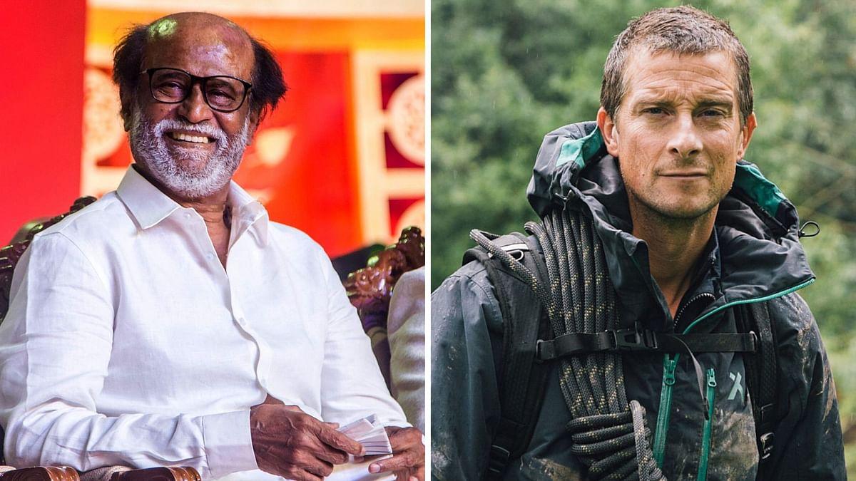 Rajinikanth will shoot an episode of <i>Man vs Wild</i> with Bear Grylls.