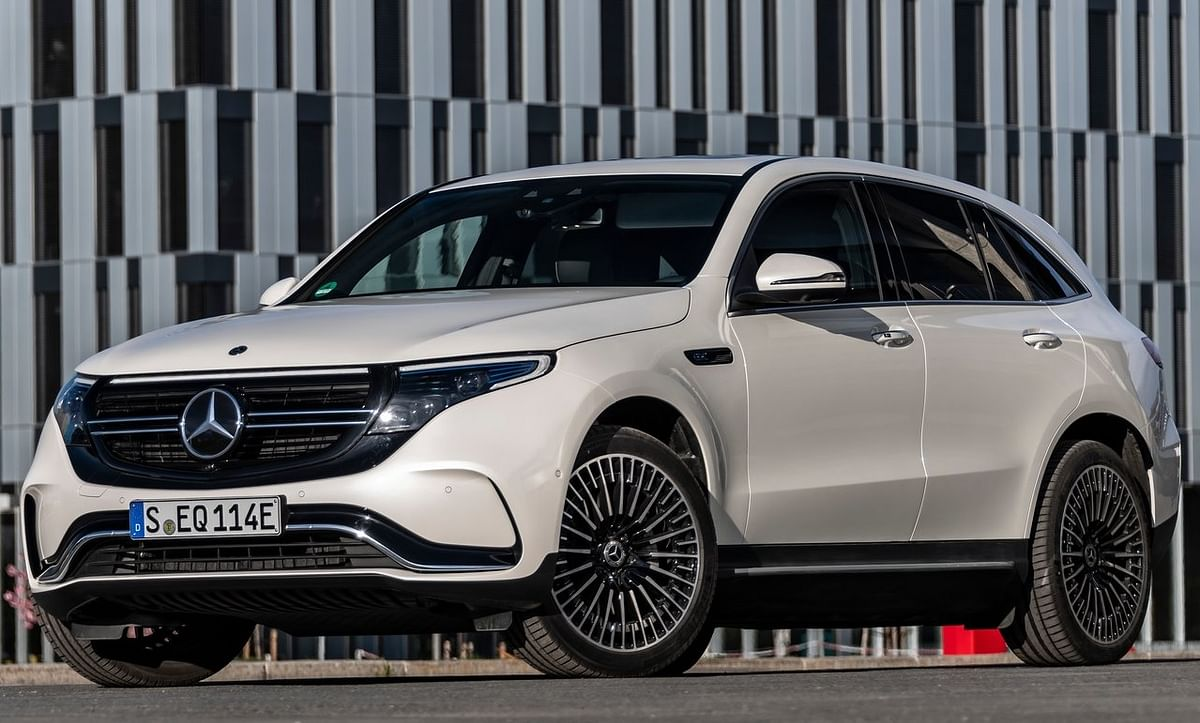 The Mercedes-Benz EQC electric SUV is based on the GLC platform.