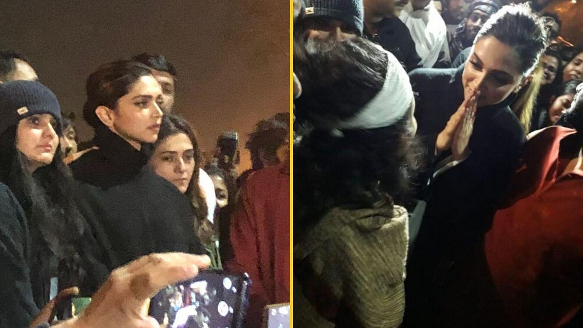 JNU Protest | Your Courage Will be Remembered: Kanhaiya to Deepika