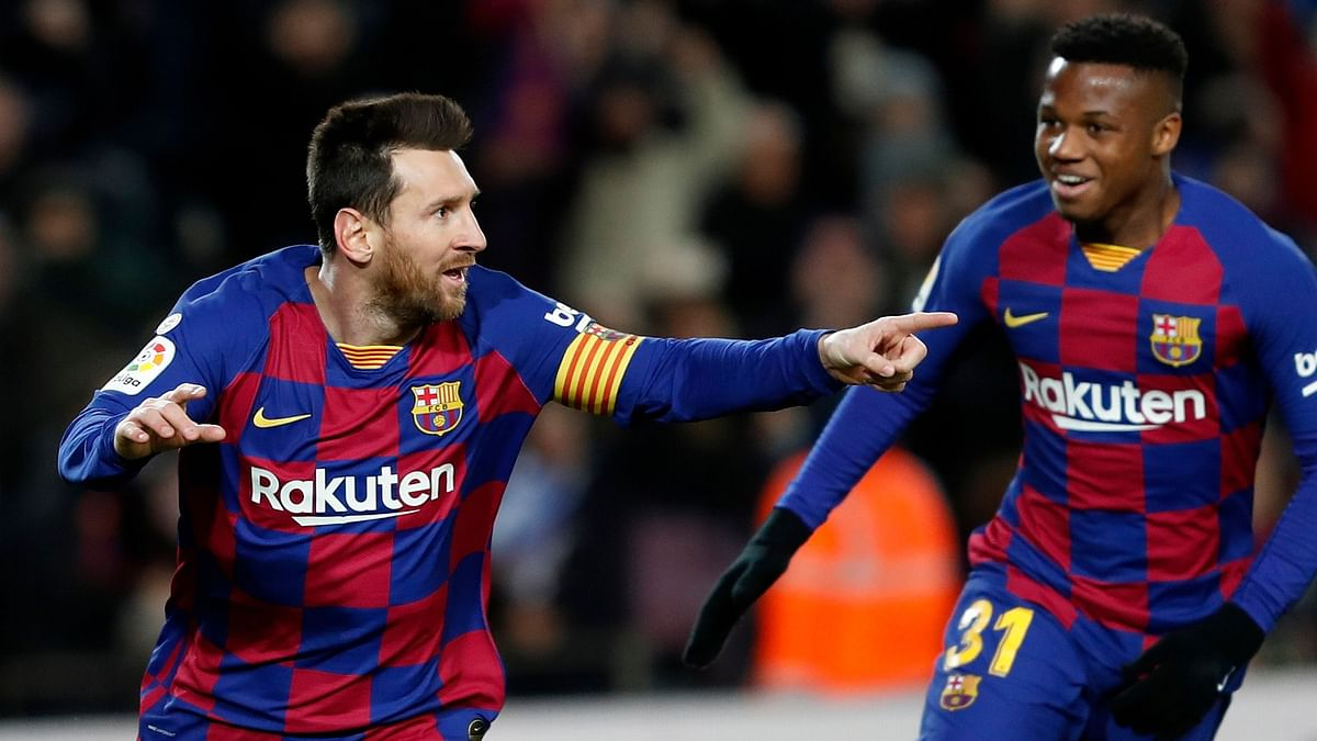 Barcelona FC will be able to start individual training on Friday after none of the club's first team players or coaches tested positive for COVID-19.