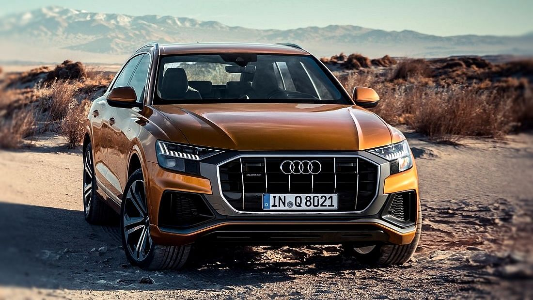 The Audi Q8 is the company's flagship SUV, powered by