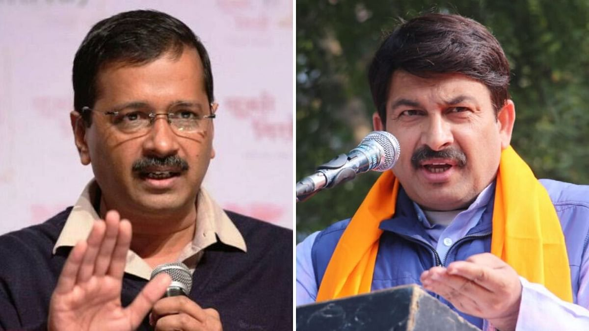 AAP Uses Tiwari Clip in Promo, BJP Files Rs 500 cr Defamation Suit