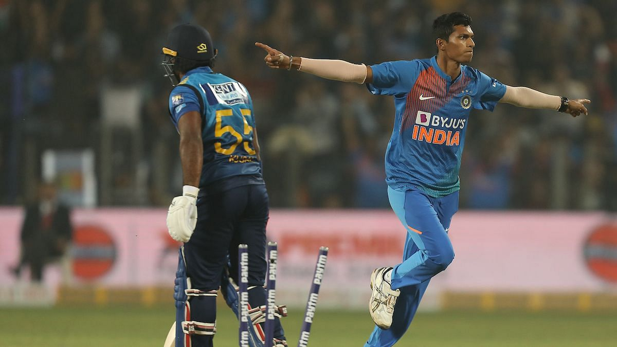 For India, pacer Navdeep Saini once again starred with the ball to finish with 3/28.