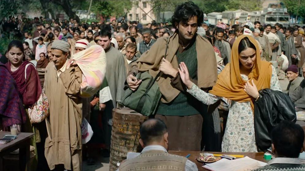 Aadil Khan and Sadia Khan in <i>Shikara</i>.