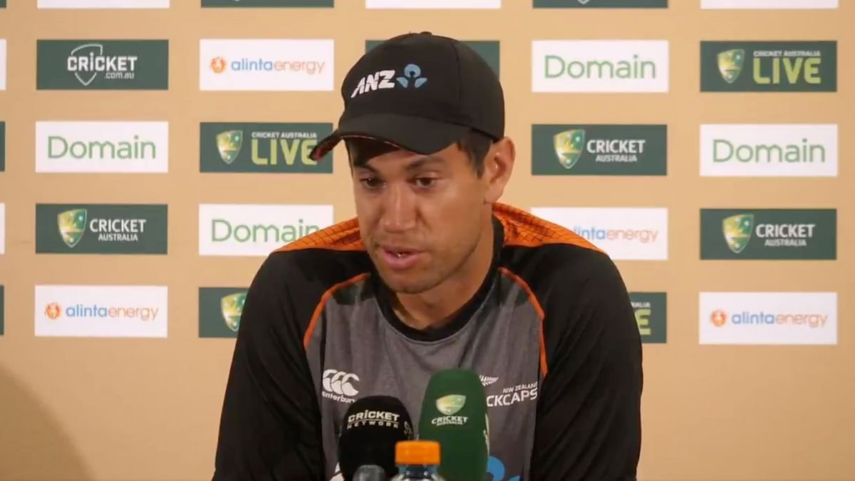 Watch: Tearful Ross Taylor Remembers Martin Crowe After Record
