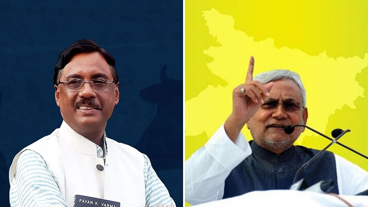 'Free to Go': Nitish Snubs Varma For  Questioning JD(U)-BJP Tie-Up