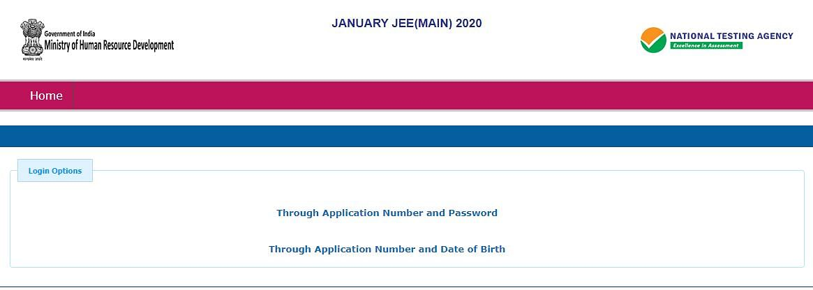 JEE Mains 2020 Answer Key: Download Answer Key from jeemain.nic.in