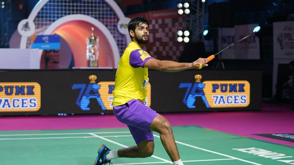 Sai Praneeth opened his account this season with a 10-15, 15-7, 15-8 win.