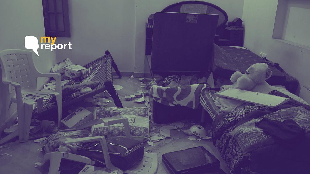 Several homes were vandalised in Muzaffarnagar.