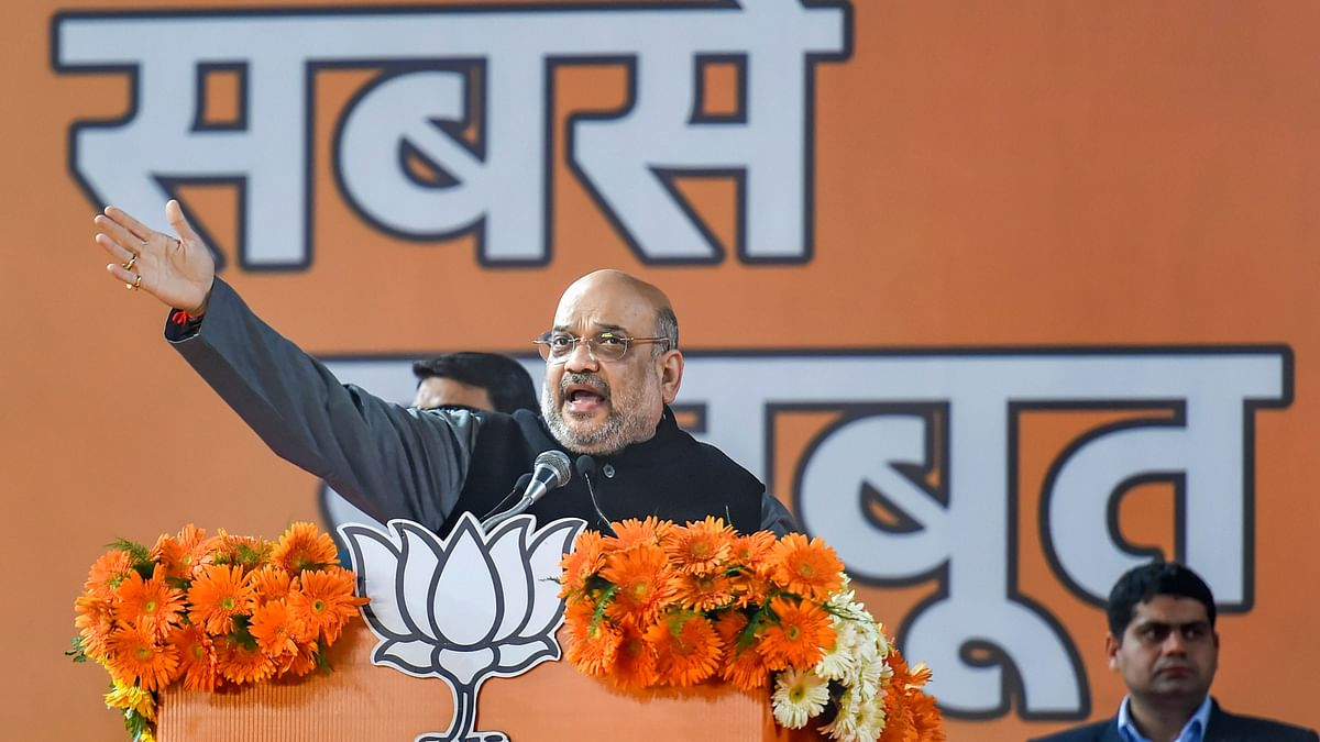 'Rahul Gandhi Identifying With Rioters,' Says Amit Shah