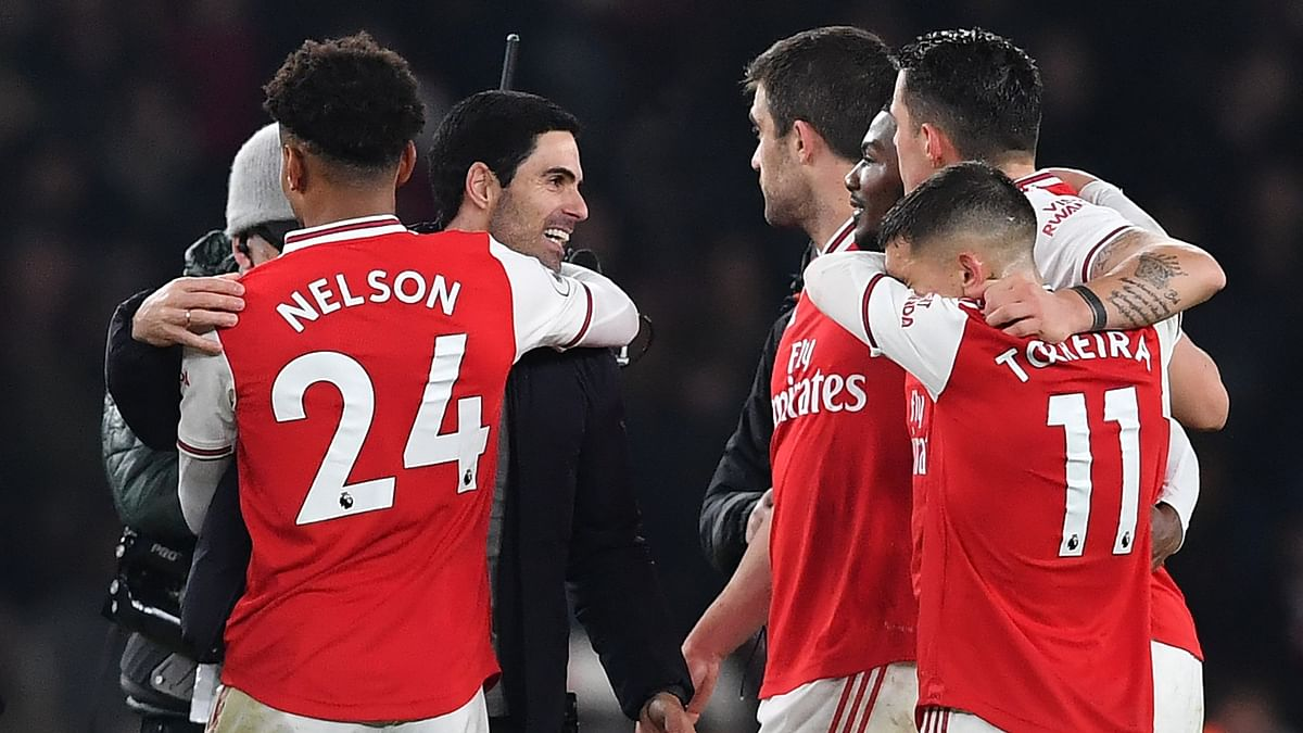 Mikel Arteta got everything he asked for in his first win as Arsenal manager with a rampant first 45 minutes from the Gunners earning a 2-0 victory over Manchester United at the Emirates.