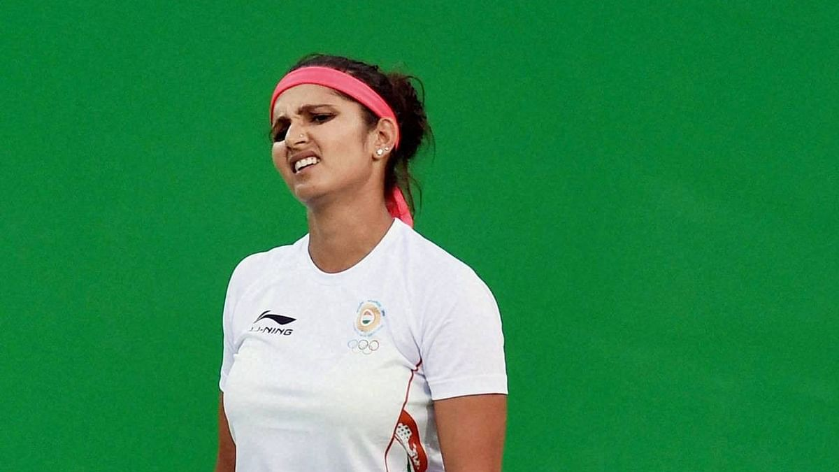 Sania Mirza was forced to pull out of the 2008 Beijing Olympic Games due to a wrist injury.