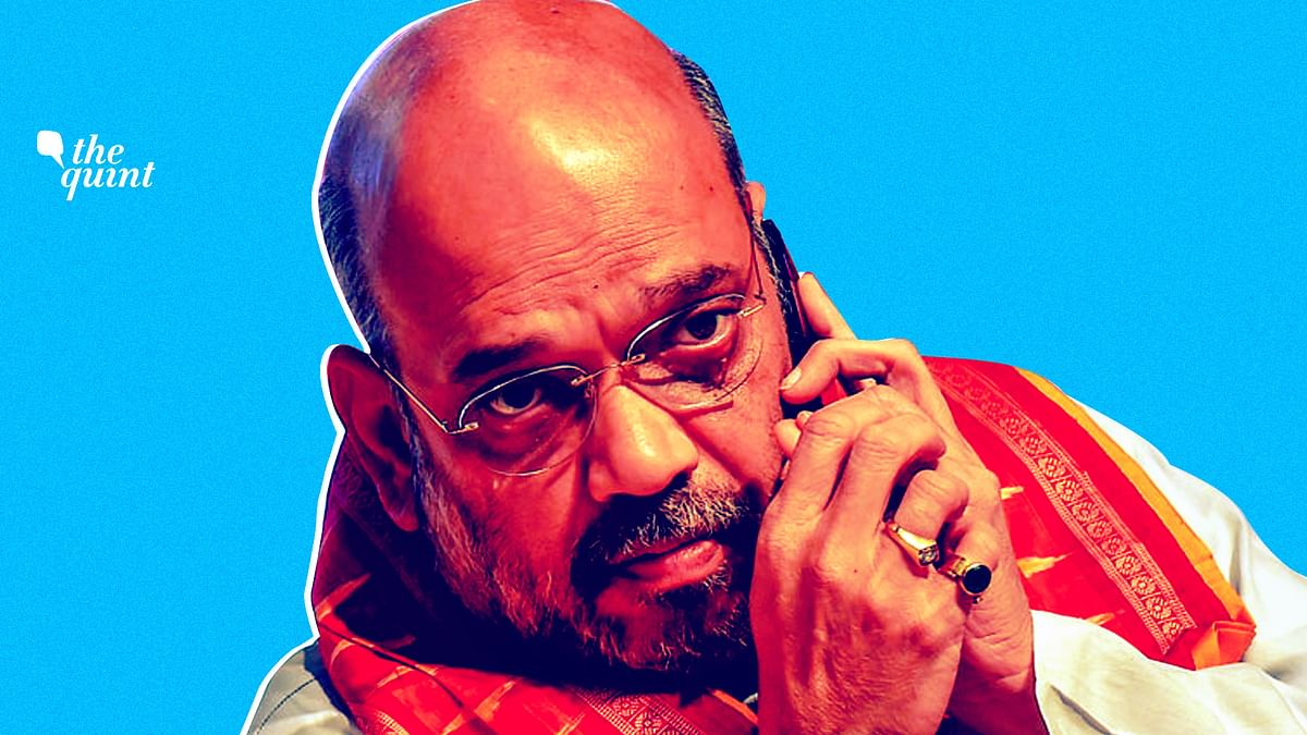 Ex-IAF Wing Commander Booked for Posing as Amit Shah on Phone Call