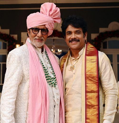 Amitabh Bachchan and Nagarjuna.