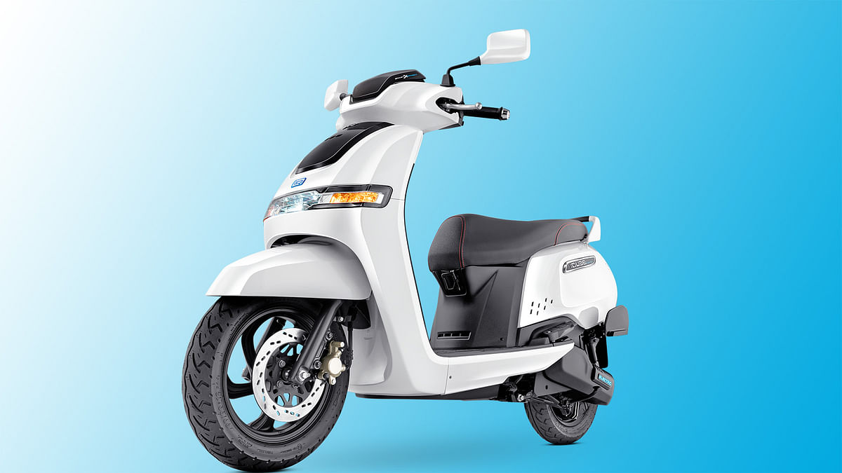 TVS Launches iQube Electric Scooter To Rival Ather & Bajaj Chetak