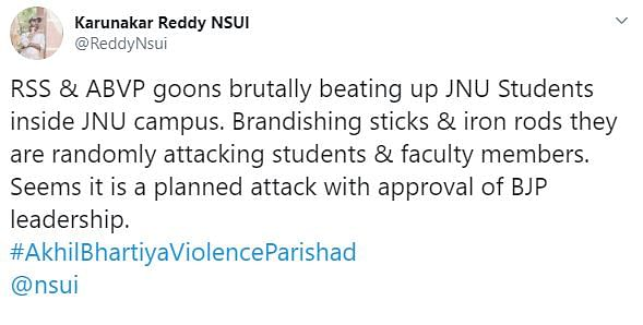 'Mob Singled Out People, Attacked Them': JNUSU Prez Aishe Ghosh