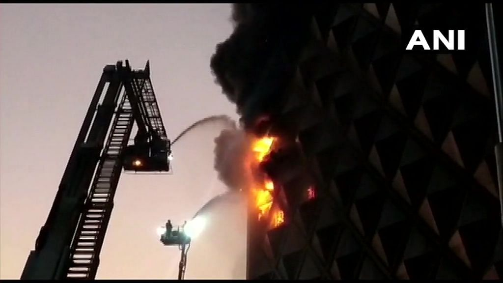 Fire in Surat's Raghuveer Complex Under Control, Cooling Underway