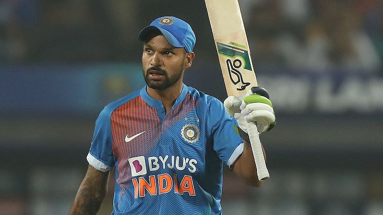 Shikhar Dhawan was back among runs as he scored a 36-ball 52 in Pune in the final T20I against Sri Lanka.