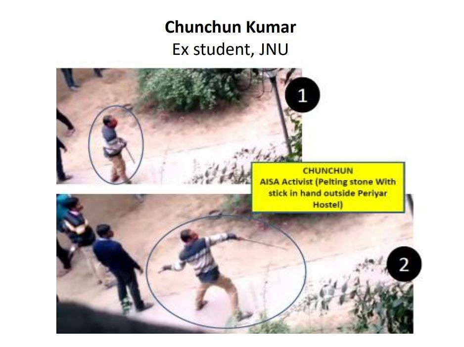 JNU: Police Name 9 Suspects, Skip Affiliation of 2 ABVP Students