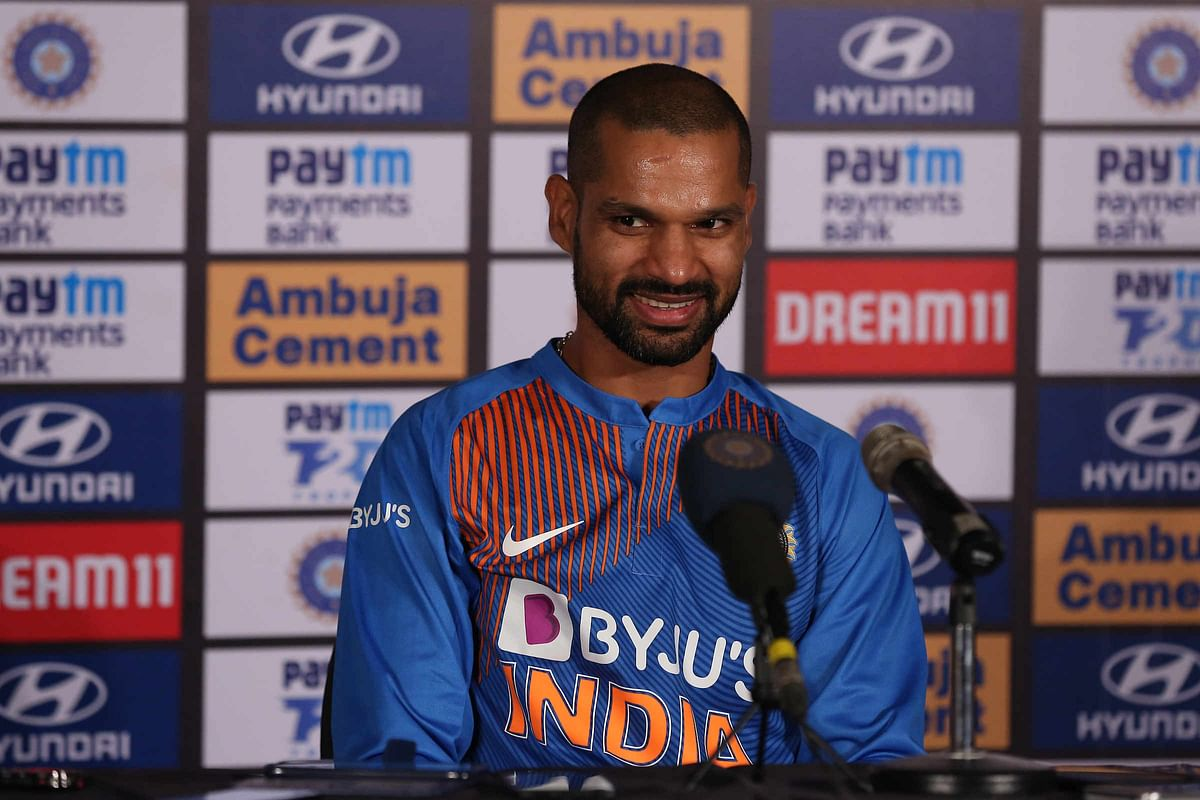 Dhawan Gives Hilarious Reply on Selection for Indian Openers