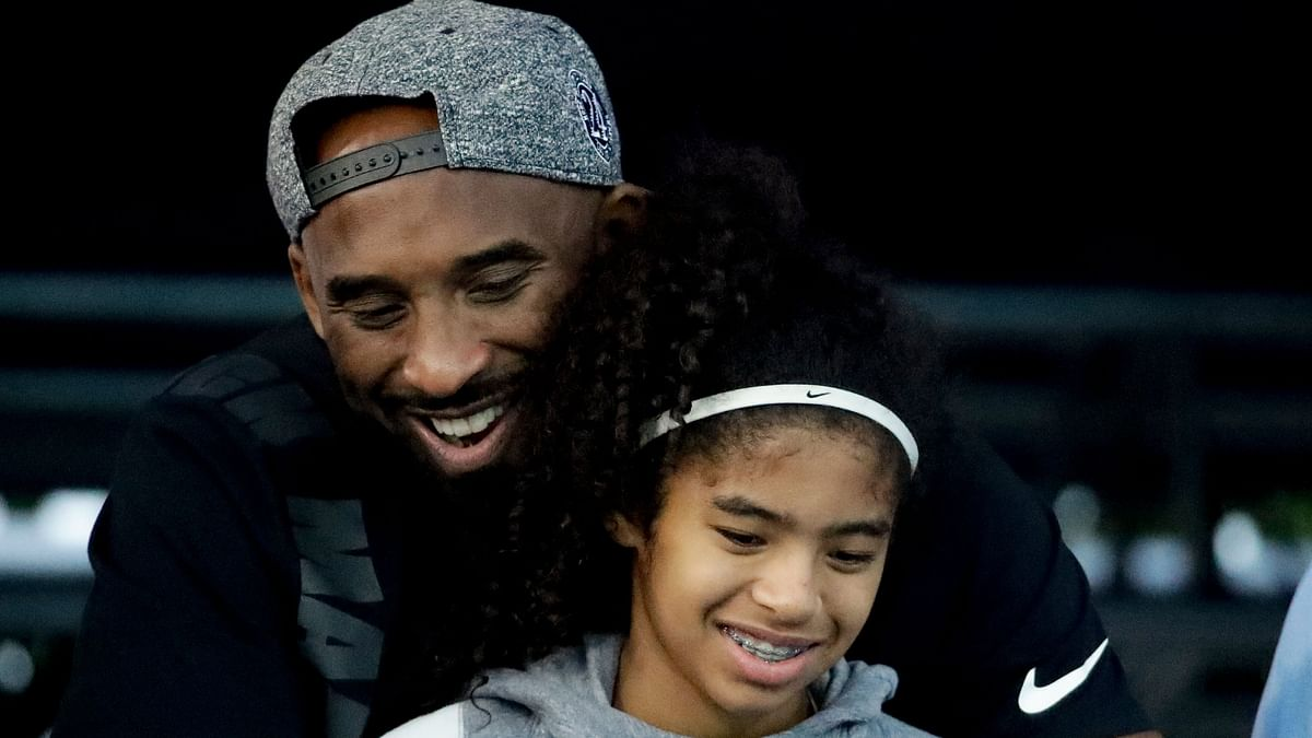Gianna was on the helicopter that crashed because she was travelling to a tournament in the Los Angeles suburbs to play for her team, called the Mamba Team.