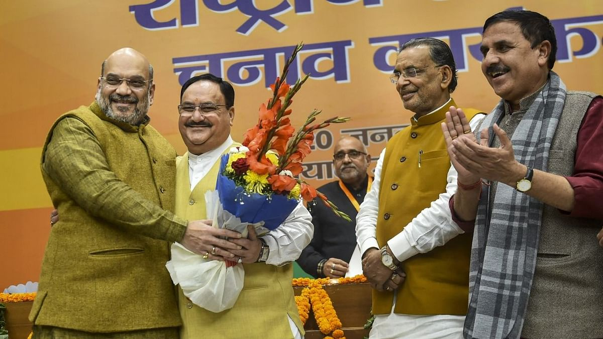 JP Nadda —  the Man Chosen by BJP to Fill in Amit Shah's Shoes