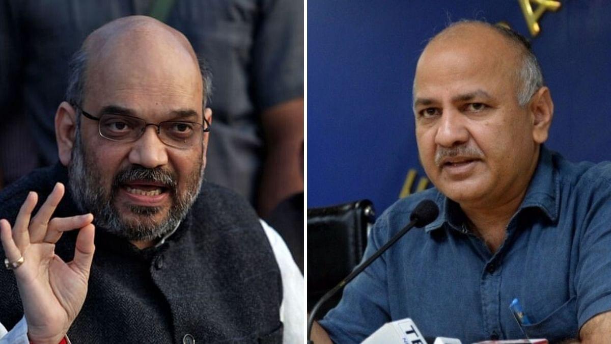 Dy CM Manish Sisodia Takes on Amit Shah Over Delhi CCTV Cameras