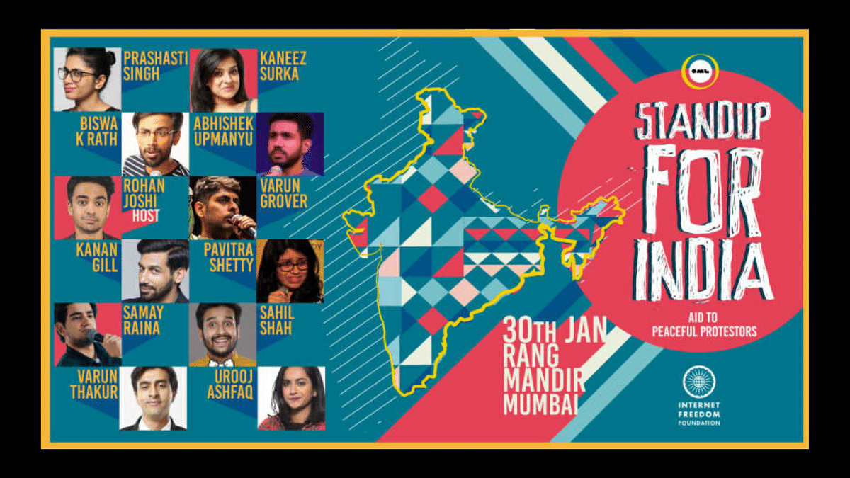 Comedians 'Stand Up For India' Against CAA-NRC in Fundraiser Show