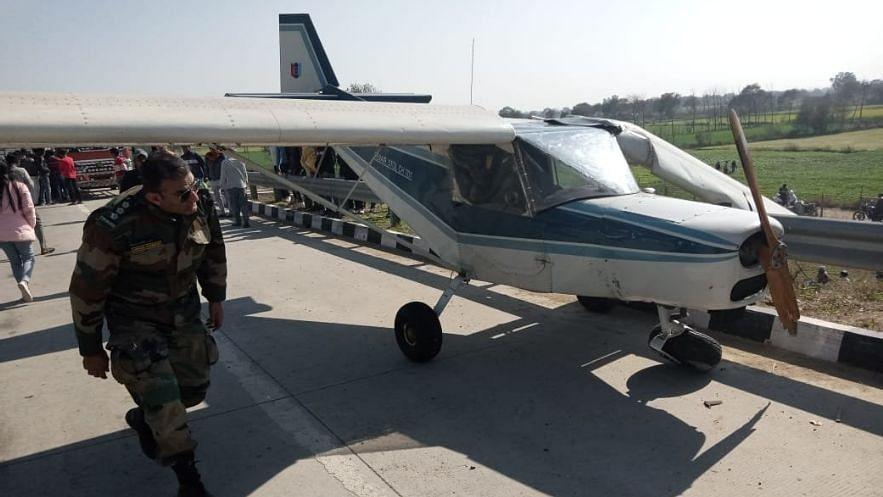 Training Aircraft Makes Emergency Landing on Expressway Near Delhi