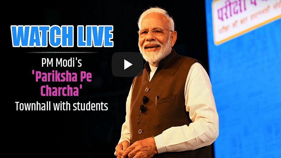 Pariksha Pe Charcha LIVE Stream: How to Watch PM Modi Speech Live
