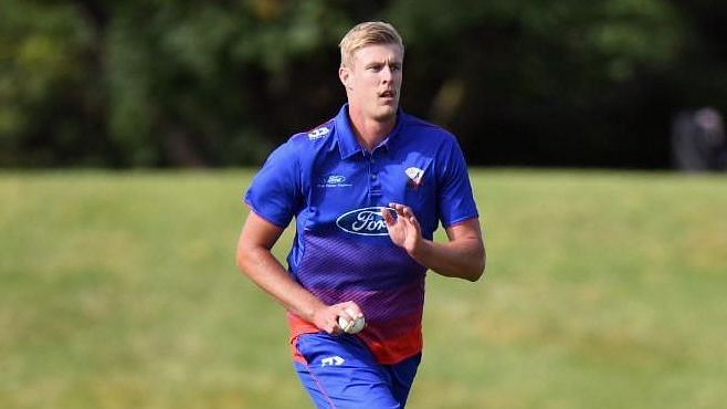 New Zealand's Kyle Jamieson was one of the prized picks at the IPL Auction for RCB.