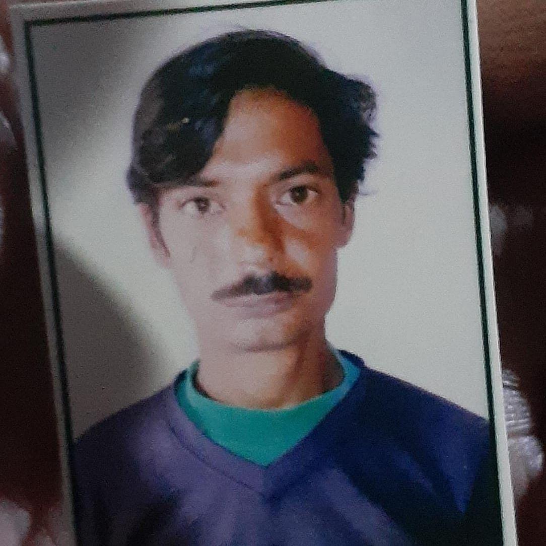 File photo of Rashid, a resident of Kashmiri Gate in Firozabad.